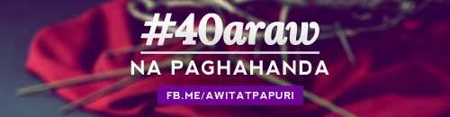 #40Araw na Paghahanda